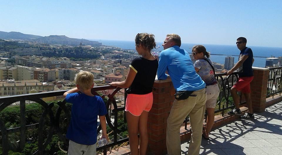 Sardinie op bezoek bij Manuela en Max