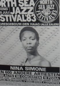 North Sea Jazz festival billboard met Nina Simone