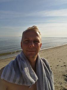Een duik in de Noordzee, iedere ochtend